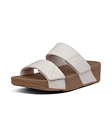 Women's Mina Leather Slides Sandal