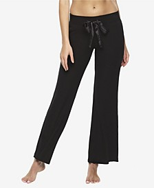 Cozy Hacci Lounge Pant with Satin Tie