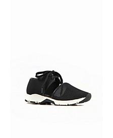 Women's Solid Mesh Sneaker