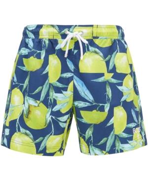 Boss Men's Lemon Shark Quick-Dry Swim Shorts