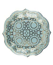 Boho Dessert Plate, Pack of 16
