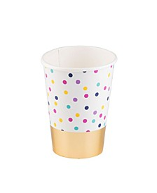 Double Wall Confetti Paper Cup 12 Oz., Pack of 16