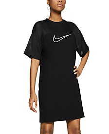 Women's Sportswear Mesh-Panel Dress