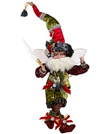 Coal Stocking Fairy, Small - 9.5 Inches