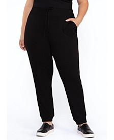 Plus Size Skinny Fit Pull-On Pants