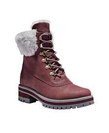 Timberland Women's Courmayeur Valley Shearling WP Boot