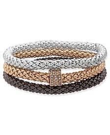 Boxed Stretch Bracelets, 3 Set