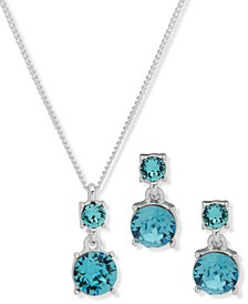 Boxed Necklace and Earring Set