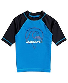 Quicksilver Little Boys Bubble Dreams Short Sleeve Rashguard