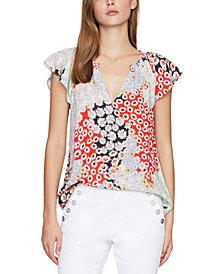 Sanctuary Garden Floral-Print Top