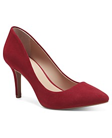 I.N.C. Women's Zitah Mid-Heel Pumps, Created for Macy's
