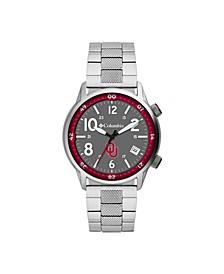 Men's Outbacker Oklahoma Stainless Steel Bracelet Watch 45mm