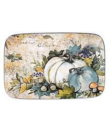 Harvest Gatherings Rectangular Platter