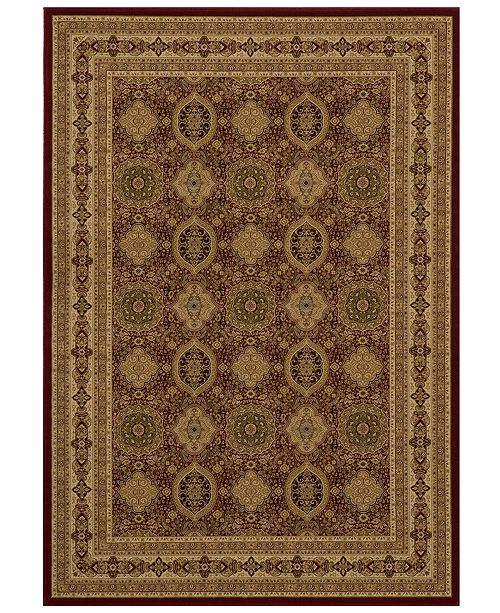 Momeni CLOSEOUT! Area Rug, Bitah BH01 Panel Red 2' x 3'3""