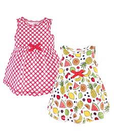 Baby Girls Short-Sleeve Dresses