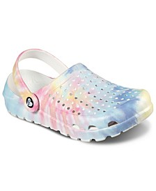 Women's Cali Gear Tie-Dye Clog Sandals from Finish Line