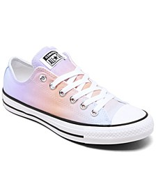 Women's Chuck Taylor All Star Ombre Low Top Casual Sneakers from Finish Line