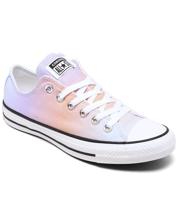 Converse Women's Chuck Taylor All Star Ombre Low Top Casual Sneakers from Finish Line