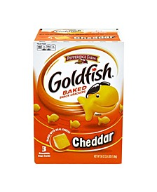 Goldfish Cheddar Baked Snack Crackers, 3.6 lbs