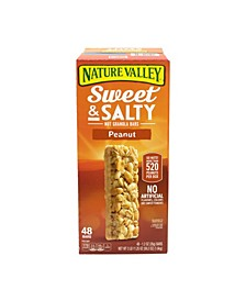 Sweet Salty Nut Granola Bars Peanut, 1.2 oz, 48 Count