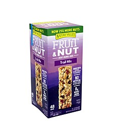 Fruit Nut Trail Mix Chewy Granola Bars, 48 Count