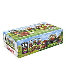 Juice Variety Pack, 6.75 oz, 36 Count