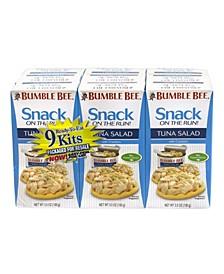 Ready-To-Eat Tuna Salad Kits, 3.5 oz, 9 Pack