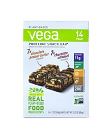 Plant-Based Protein Bars Variety, Pack of 14