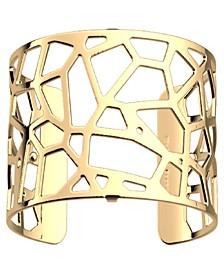 Exotic Spot Openwork Wide Adjustable Cuff Girafe Bracelet, 40mm, 1.6in