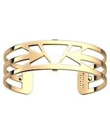 Triangular Openwork Thin Adjustable Cuff Ibiza Bracelet, 14mm, 0.5in