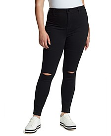 Trendy Plus Size Sculpted Skinny Jeans