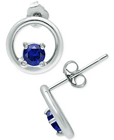 Cubic Zirconia Circle Stud Earrings, Created for Macy's