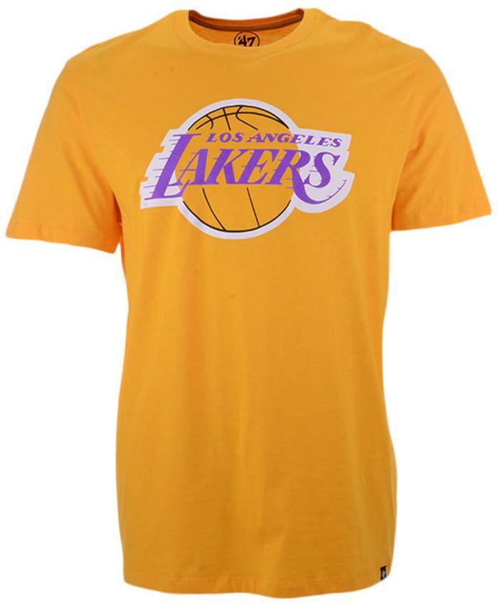 '47 Brand Men's Los Angeles Lakers Super Rival T-Shirt & Reviews - Sports Fan Shop By Lids - Men - Macy's
