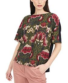 Soledad Floral-Print Top