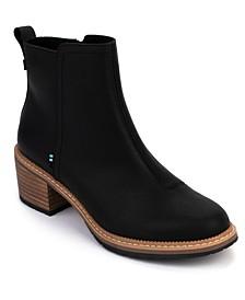 Women's Marina Block-Heel Booties
