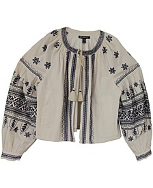 INC Embroidered Bomber Jacket, Created for Macy's