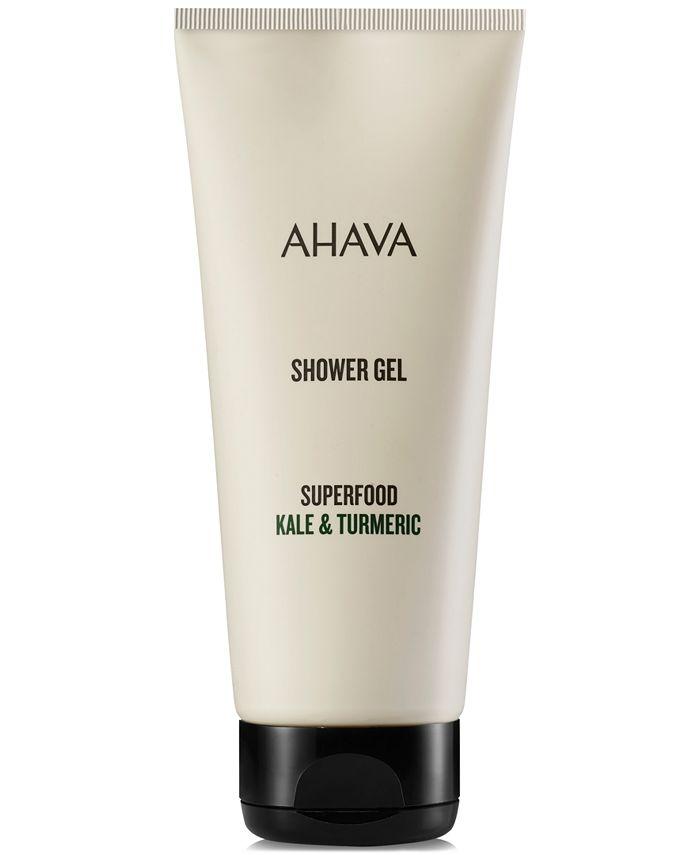 Ahava - Superfood Kale & Turmeric Shower Gel, 6.8-oz.