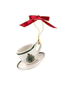 Cup and Saucer Ornament