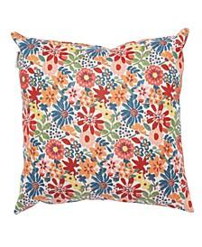 "Kokomo Floral 20"" x 20"" Outdoor Decorative Pillow"