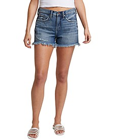 Distressed Not Your Boyfriend's Denim Shorts