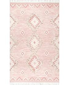 Savannah SPMO01E Pink 2' x 3' Area Rug