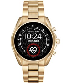 Access Gen 5 Bradshaw Gold-Tone Stainless Steel Bracelet Touchscreen Smart Watch 44mm