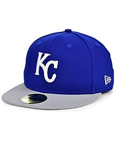 Kansas City Royals Plate Patch 59FIFTY Cap