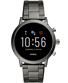Tech Gen 5 Carlyle HR Smoke Bracelet Smart Watch 44mm, Powered by Wear OS by Google