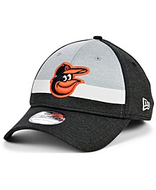 Baltimore Orioles Striped Shadow Tech 39THIRTY Cap
