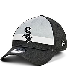 Chicago White Sox Striped Shadow Tech 39THIRTY Cap