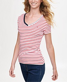 Cotton Striped T-Shirt, Created for Macy's