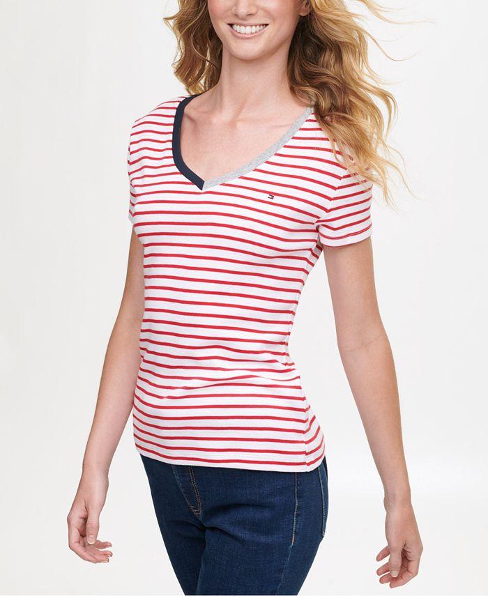 Tommy Hilfiger - Cotton Striped T-Shirt