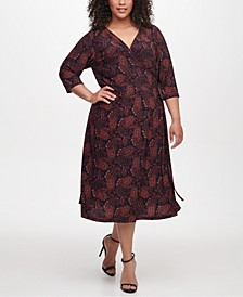 Plus Size Vilette Paisley-Print Dress