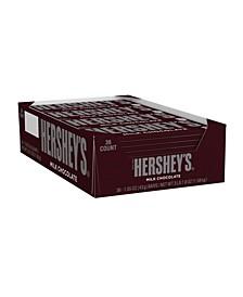 Milk Chocolate Bar, 1.55 oz, 36 Count